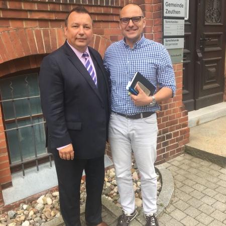 Gespräch mit Bürgermeister Zeuthen