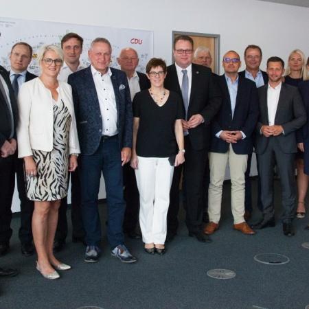 Konferenz der innenpolitischen Sprecher CDU/CSU mit Generalsekretärin Annegret Kramp-Karrenbauer